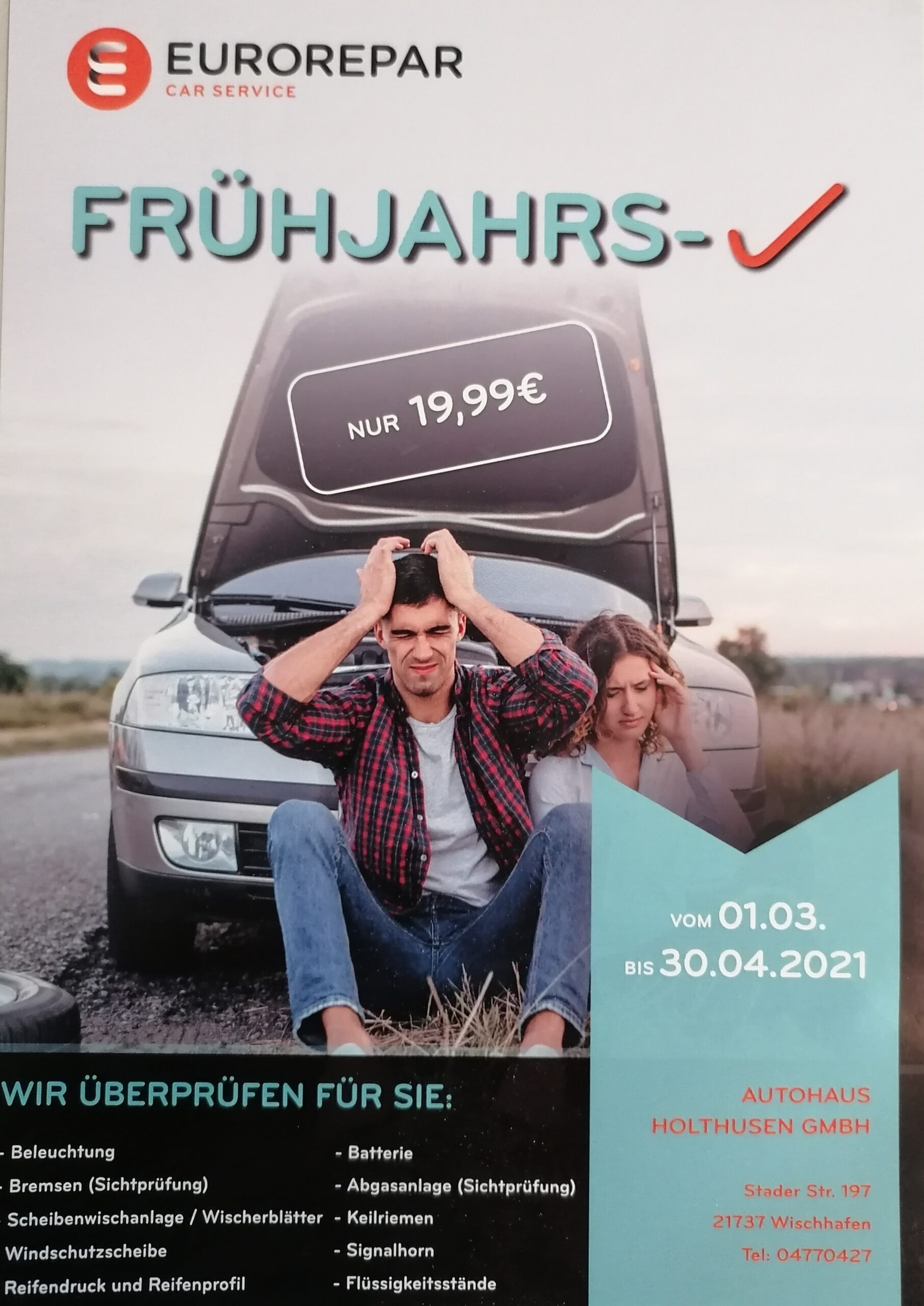 Eurorepar Fruhjars-Check